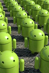 3D Android Army Android Wallpaper