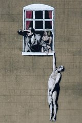 Banksy Adultery Android Wallpaper