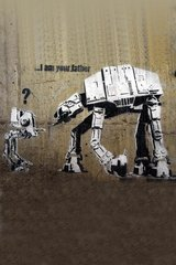 Banksy I Am Your Father Android Wallpaper