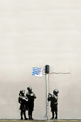 Banksy Tesco Generation Android Wallpaper