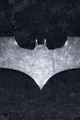 Batman Logo Metal Android Wallpaper