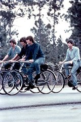 Beatles Biking Android Wallpaper