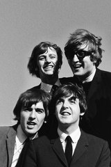 Beatles Goofy Smiles Android Wallpaper