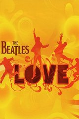 Beatles Love Orange Android Wallpaper