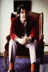 Beatles Paul Arm Chair Android Wallpaper