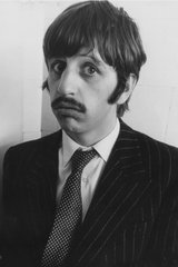 Beatles Ringo Funny Face Android Wallpaper
