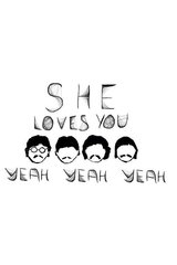Beatles She Loves You Android Wallpaper