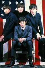 Beatles Us Flag Android Wallpaper