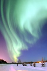 Beautiful Aurora Borealis Android Wallpaper