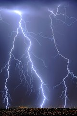 Beautiful Lightning Android Wallpaper