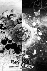 Black And White Rose Android Wallpaper
