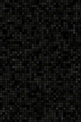 Black Small Tiles By Patrick Hoesly Android Wallpaper
