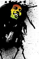 Bob Marley Graffiti Android Wallpaper
