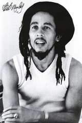 Bob Marley Signed Photo Android Wallpaper