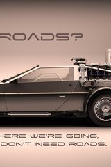 Car Back To Future Quote Android Wallpaper