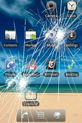 Cracked Android Icons Android Wallpaper