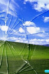 Cracked Windows Desktop Android Wallpaper