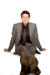 Glee Cory Monteith Casual Pose Android Wallpaper