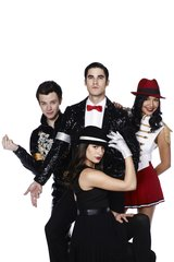 Glee Kurt Blaine Santana Rachel Android Wallpaper