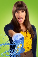 Glee Rachel Slushie Android Wallpaper