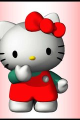 Hello Kitty 3D Android Wallpaper