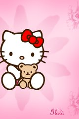 Hello Kitty Ilala Android Wallpaper