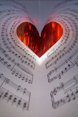 Love Music Sheet Android Wallpaper