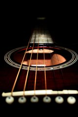 Music Guitar Bridge Android Wallpaper