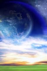 Space Landscape Planet Android Wallpaper