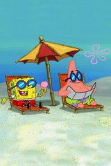Spongebob And Patrick Beach Android Wallpaper
