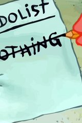 Spongebob To Do List Nothing Android Wallpaper