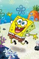 Spongebob Underwater Leap android wallpaper