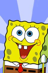 Spongebob Whole Body Toothy Smile Android Wallpaper