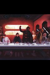 Star Wars Last Supper Android Wallpaper