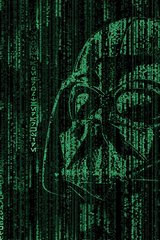 Star Wars Matrix Green Android Wallpaper