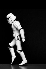 Star Wars Storm Trooper Dance2 Android Wallpaper