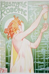 Vintage Absinthe Android Wallpaper