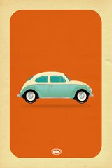 Vintage Beetle Android Wallpaper