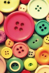 Vintage Buttons Android Wallpaper