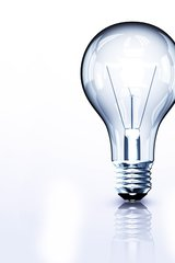 White Light Bulb Android Wallpaper