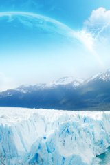 Winter Glacier Android Wallpaper