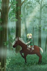 Zelda Cartoon Link Horse Android Wallpaper