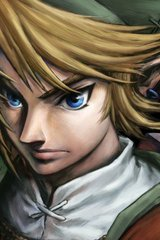 Zelda Link Closeup Android Wallpaper