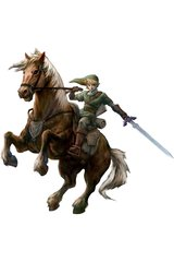 Zelda Link Horse Android Wallpaper