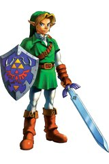 Zelda Link Ocarina Of Time Android Wallpaper