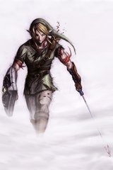 Zelda Link Through The Mist Android Wallpaper