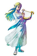 Zelda Skyward Sword Girl Android Wallpaper