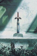 Zelda Sword In Forest Android Wallpaper